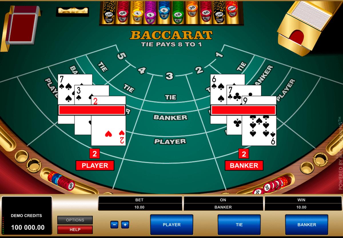 Baccara Kartenspiel star – 81594