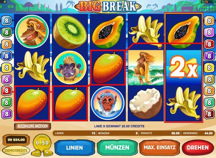 Gewinnchance Spielautomat – 80808