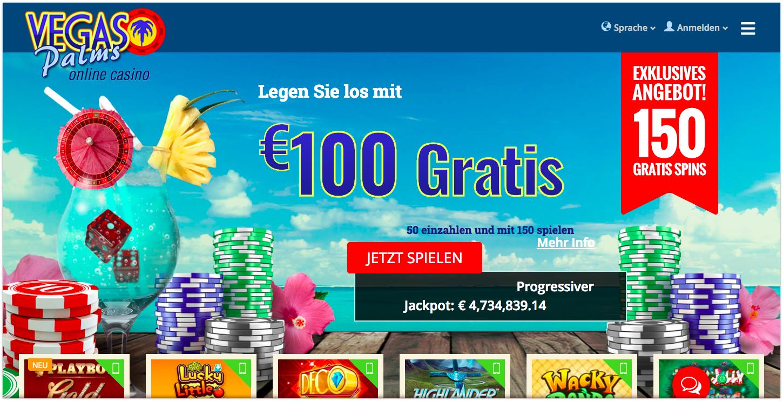 Auszahlungsquote Casino Vegas – 46970