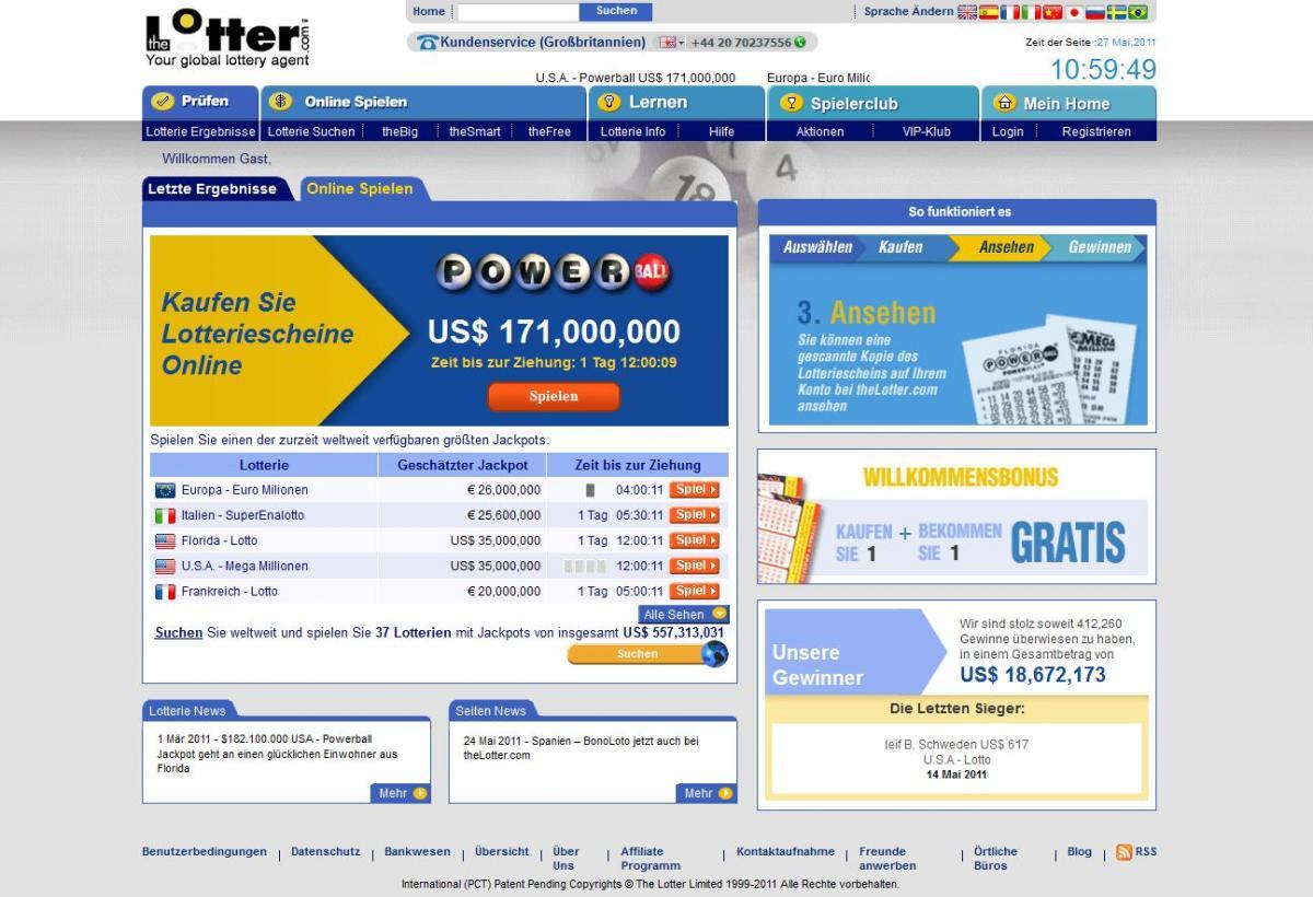 Lotterien In Deutschland – 68091