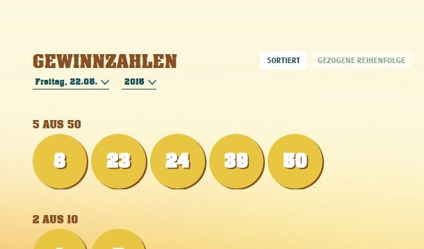 Eurojackpot Gewinner häufigsten – 29028