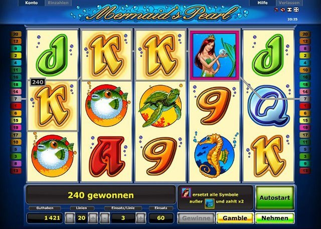 Spielautomaten Gewinnwahrscheinlichkeit Mermaids – 16398