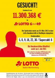 Staatliche Lotterie Einnahme – 33518