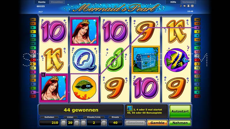 Spielautomaten Gewinnwahrscheinlichkeit Mermaids – 26730