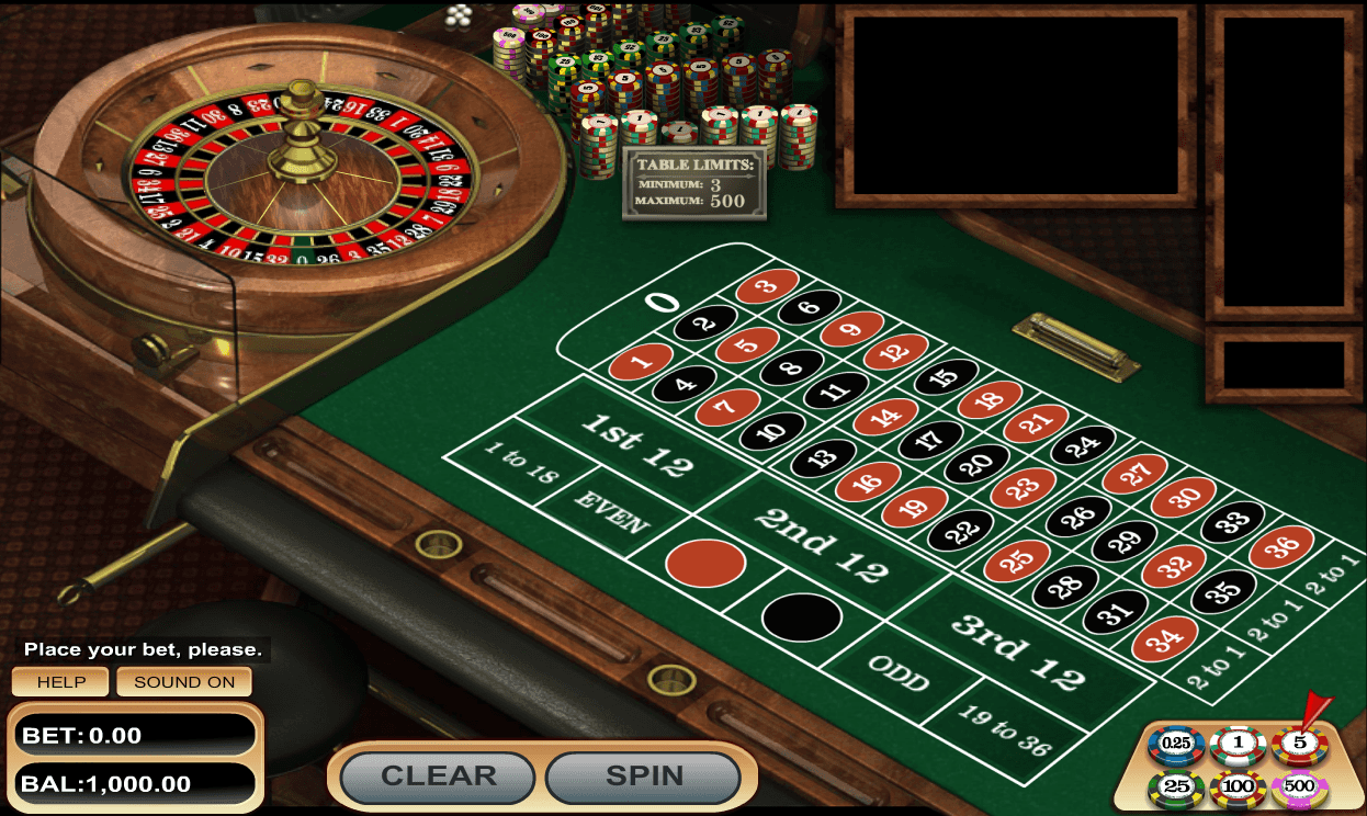 European Roulette – 52292
