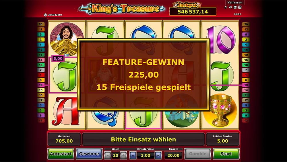 Freispiele Casino Kings – 30984
