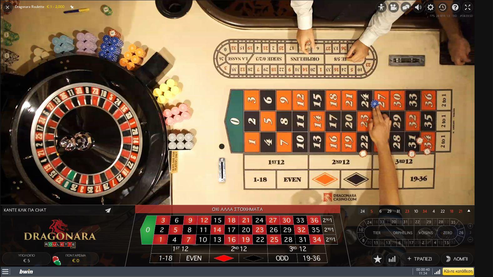 Regelmäßigkeiten Roulette – 20461