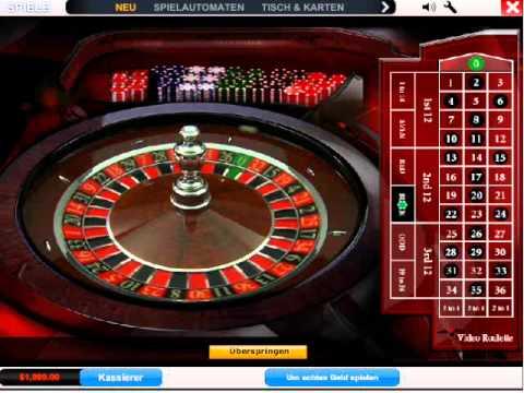 Roulette Tisch – 43422
